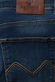 Morris - Steve Satin Jeans - skinny jeans - semi dark wash - 7