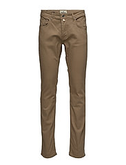 James Twill 5-Pkt - BROWN