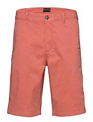 Regular Chino Shorts - CERISE