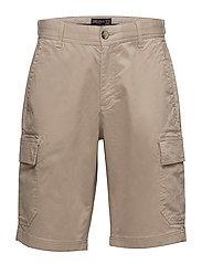 Henley Shorts - KHAKI