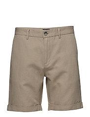 Jerome Linen Shorts - KHAKI