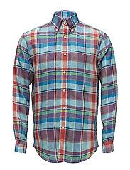 Rowe Button Down Shirt - BLUE