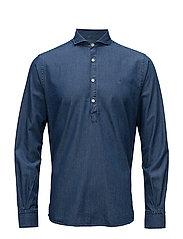 Bussarong Cut Away Shirt - BLUE