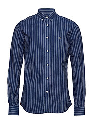 Normandie Button Down Shirt - 58 BLUE