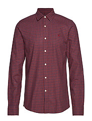 Hunter Club Collar Shirt - RED