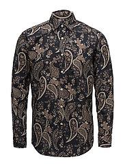Nigel Spread Collar Shirt - NAVY