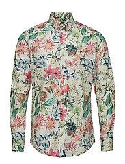 Donovan Button Down Collar - WHITE