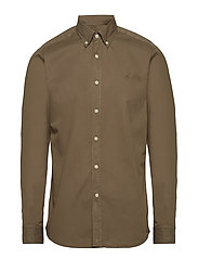 Kane Button Down Shirt - OLIVE