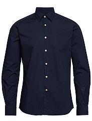 Niccolo Classic Collar Shirt - NAVY