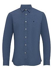Daniele Classic Collar Shirt - BLUE