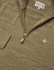 Morris - Randall Half Zip - half zip - olive - 2