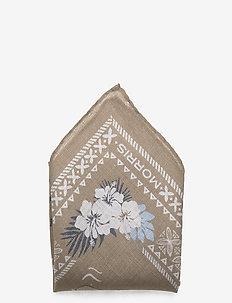 Manuae Pocket Square - KHAKI