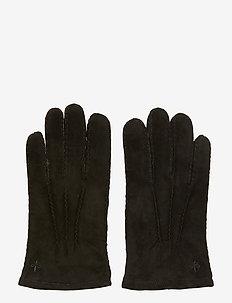 Morris Suede Gloves - BLACK