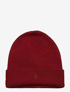 Wells Beanie - bonnet - red
