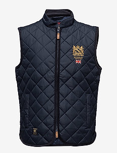Trenton Quilted Vest - OLD BLUE