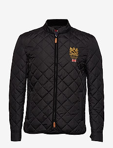 Trenton Quilted Jacket - quilted jackets - black