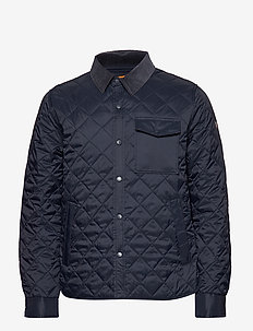 Grant Shirt Jacket - BLUE