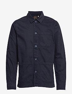 Henri Shirt Jacket - BLUE