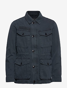 Moorea Field Jacket - blue