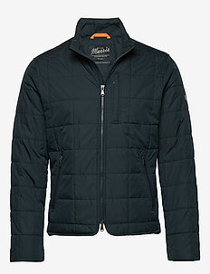 Crew Quilted Jacket - BLUE