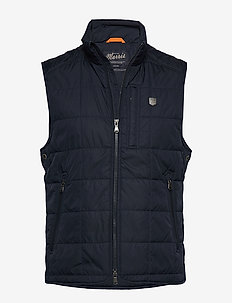 Crew Quilted Vest - BLUE