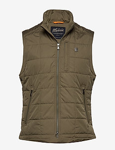 Crew Quilted Vest - OLIVE