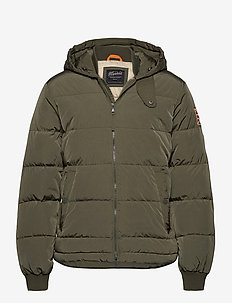 Duncan Down Jacket - padded jackets - olive