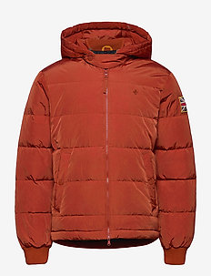 Duncan Down Jacket - forede jakker - red