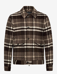 Wallace Jacket - light jackets - brown