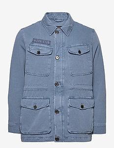 Moorea Field Jacket - tunna jackor - blue