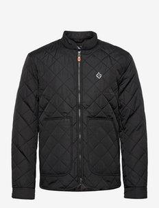 Kensington Quilted Jacket - pikowana - black