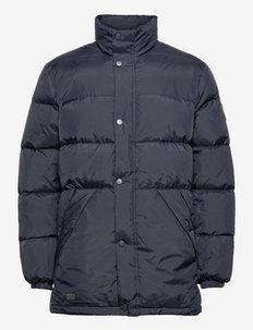 Wilby Down Jacket - fodrade jackor - old blue
