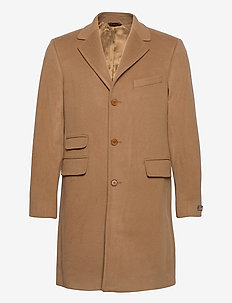 Wesley Wool Cashmere Coat - wollen mantels - camel