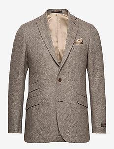 Soft Wool Blazer - BROWN
