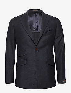 Structure Jacket - single breasted blazers - navy