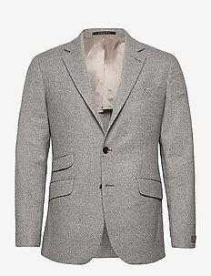 Fishbone Jacket - enkelknäppta kavajer - grey