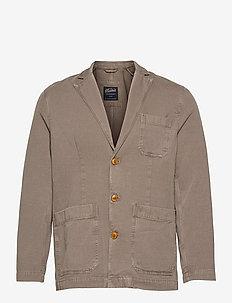 Claridge Blazer - single breasted blazers - brown