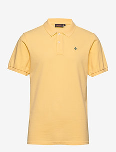 New piqué - short-sleeved polos - yellow