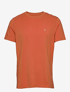 James tee - basic t-shirts - red