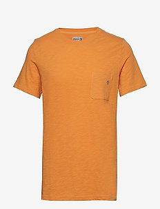 Lily Tee - short-sleeved t-shirts - orange