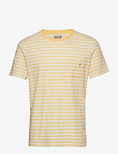 Lily Tee - short-sleeved t-shirts - yellow