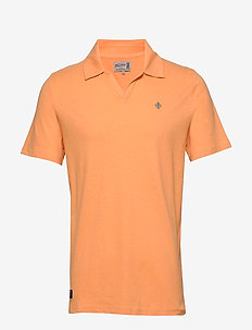 Delon SS Jersey Shirt - korte mouwen - orange