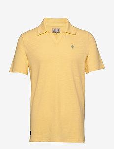Delon SS Jersey Shirt - krótki rękaw - yellow
