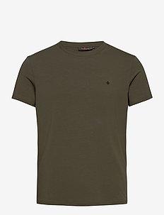 James Tee - basic t-shirts - olive