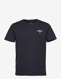 Merton Tee - basic overhemden - old blue