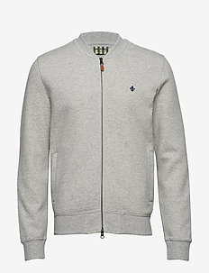 Redford Zip Sweatshirt - GREY