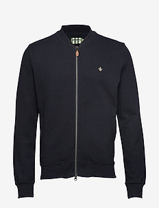 Redford Zip Sweatshirt - OLD BLUE