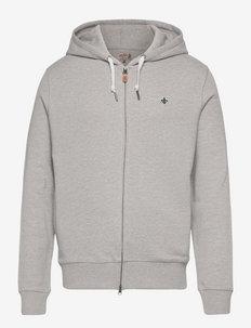Berkley Zip Hood - sweats à capuche - grey