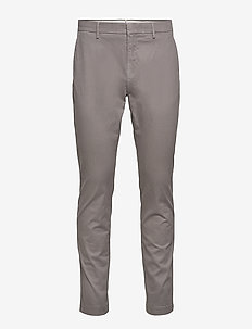 Chap Slacks Pattern - chinos - grey
