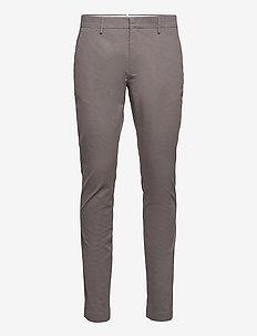Chap Slacks Pattern - chinos - grey